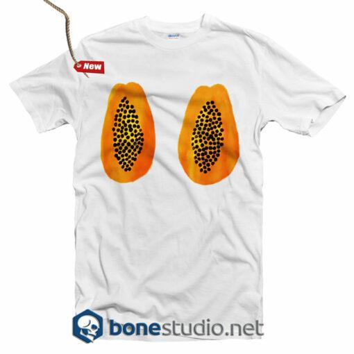 Papaya Boob T Shirt