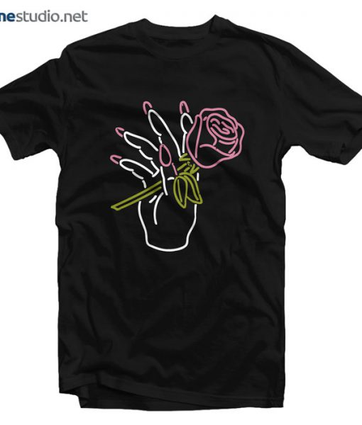 Big Bud Press Nail Salon Neon T Shirt