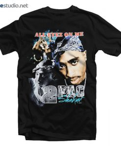 Tupac Shakur T Shirt All Eyez On Me