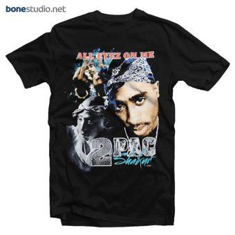 Tupac Shakur T Shirt All Eyez On Me