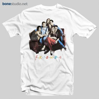 Friends T Shirt Sofa