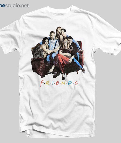Friends T Shirt Sofa