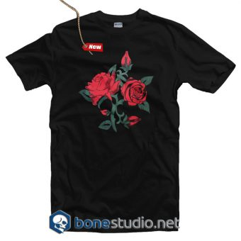 Rose Floral T Shirt