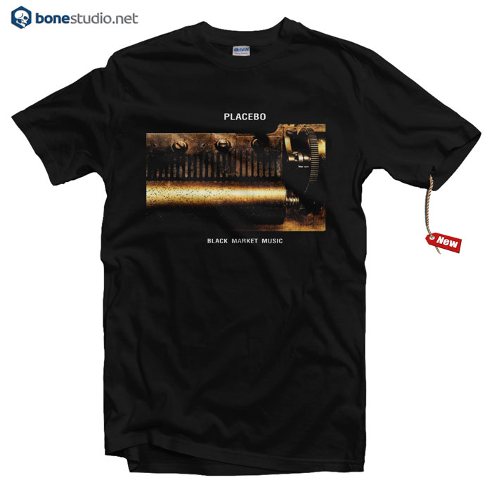 Placebo T Shirt Black Market