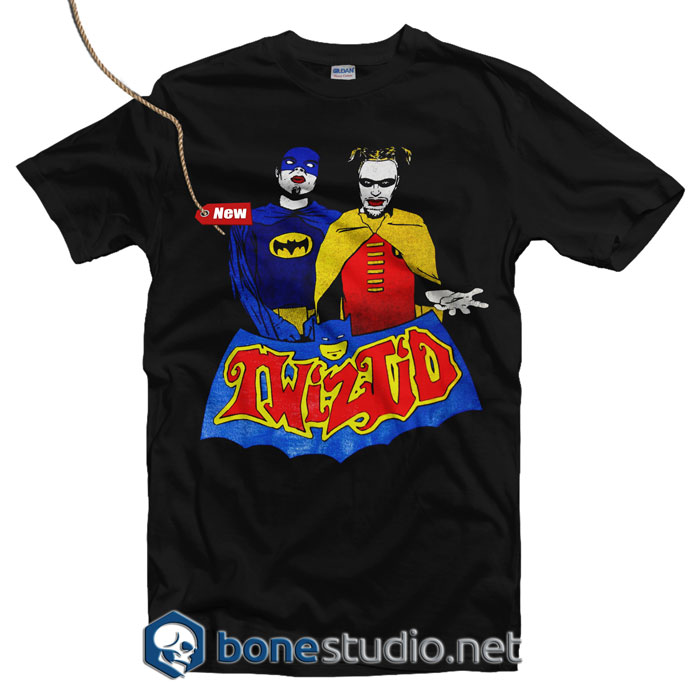 TWIZTID Batman And Robin Spoof T Shirt