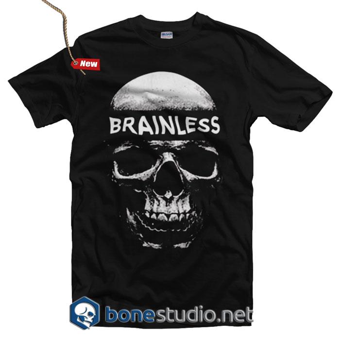 47cba221e9b Brainless T Shirt - Adult Unisex Size S-3XL - Bonestudio