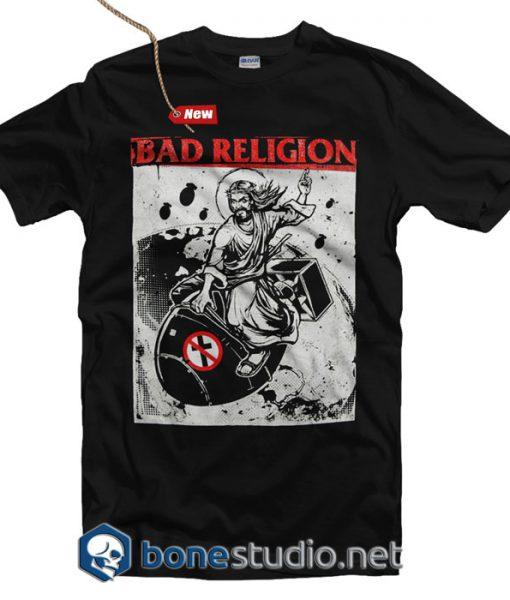 Bad Religion T Shirt Bomb Rider