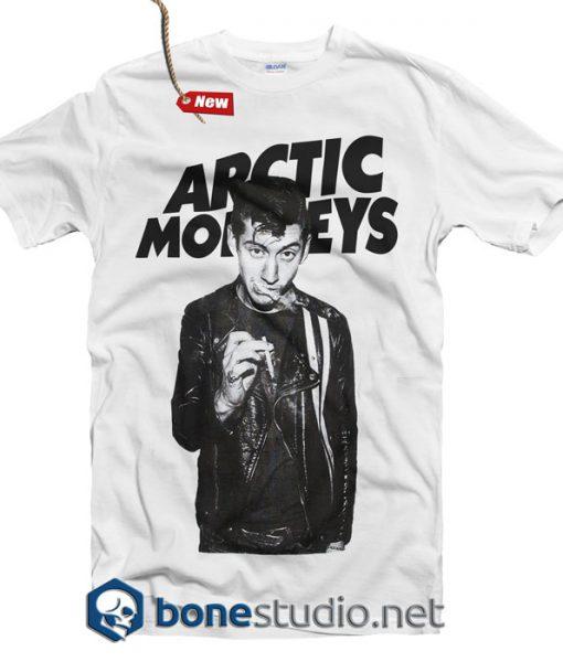 Arctic Monkeys T Shirt Alex Turner