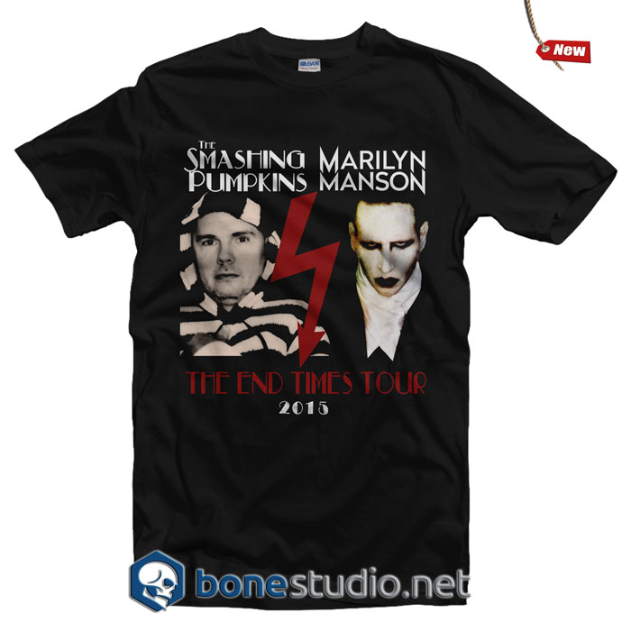Smashing Pumpkins Marilyn Manson Tour T Shirt