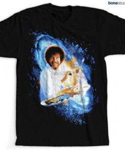 Bob Ross Painting Galaxy Joy T Shirt