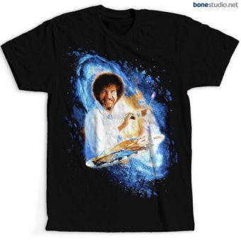 Bob Ross Painting Galaxy Joy