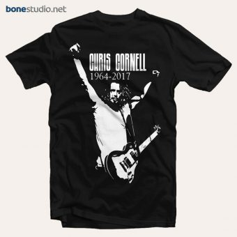 Chris Cornell 1964-2017 T Shirt Sound Garden