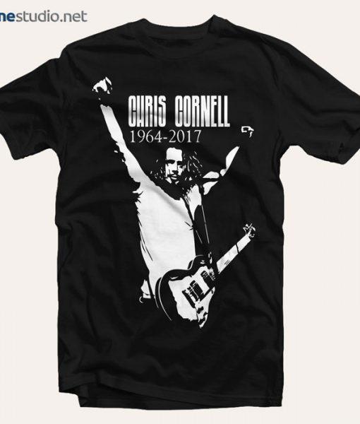 Chris Cornell 1964-2017 T Shirt Sound Garden