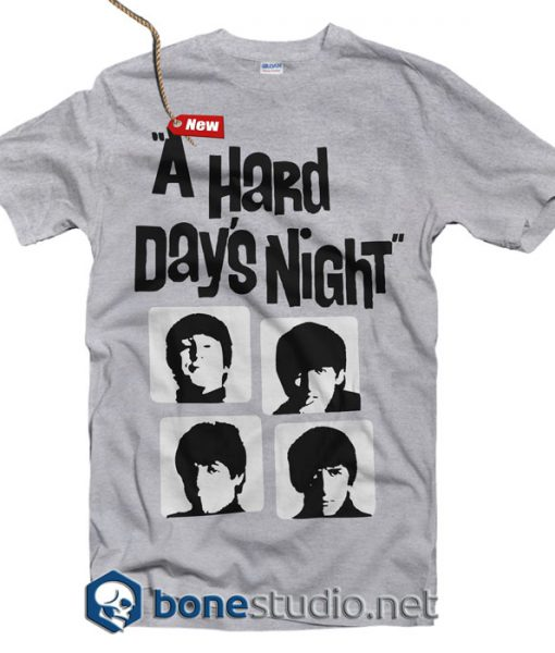 A Hard Day's Night Beatles T Shirt