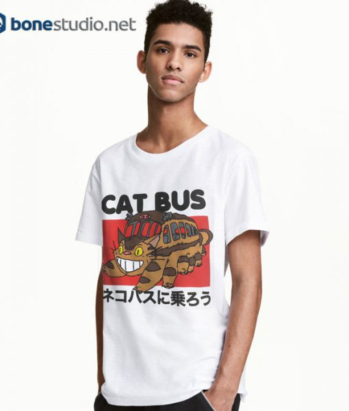 Cat Bus T Shirt