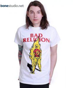 Bad Religion T Shirt Boy On Fire