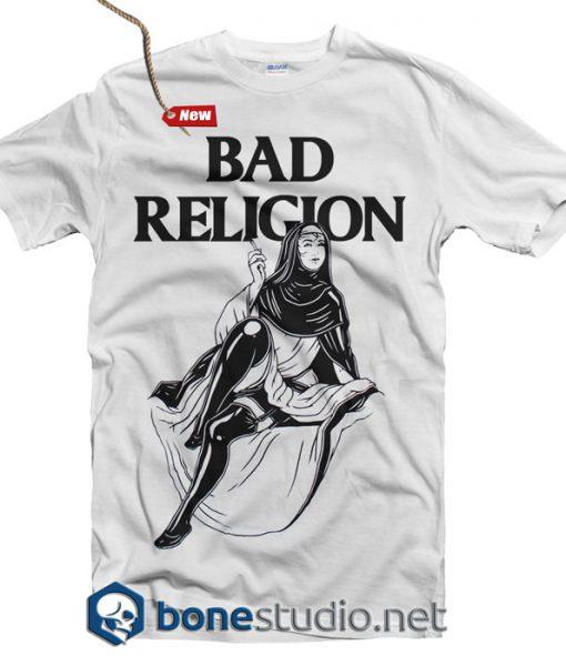 Bad Religion T Shirt Nun