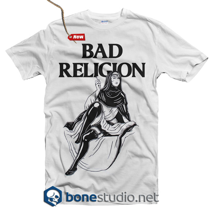 Bad Religion T Shirt Nun