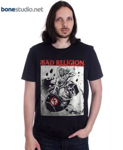 Bad Religion T Shirt Bomb Rider