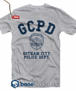 c2135bc3627 GCPD Gotham City Police Dept T Shirt · GCPD Gotham City Police Dept T Shirt  – Adult Unisex Size S-3XL