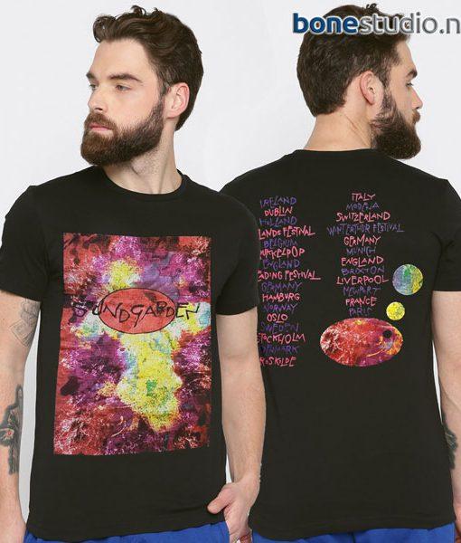 Sound Garden T Shirt 1994 European Concert
