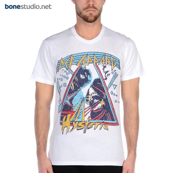 Def Leppard T Shirt Hysteria