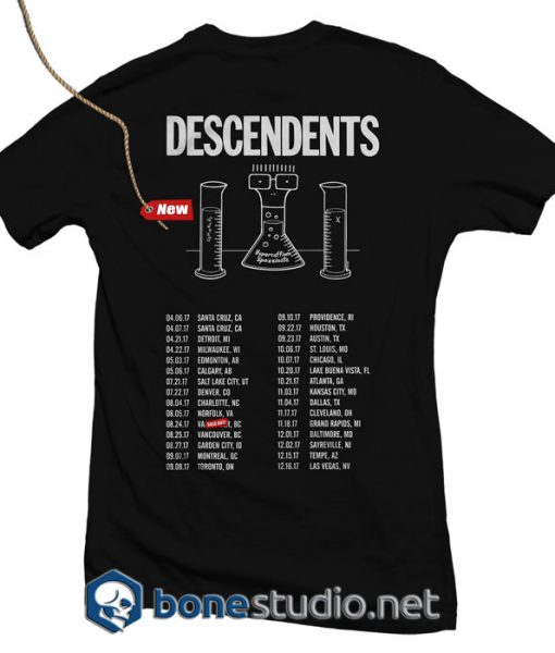Descendents Tour T Shirt