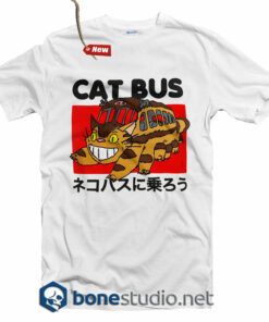 Cat Bus T Shirt