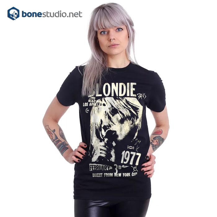 Blondie T Shirt LA 1977