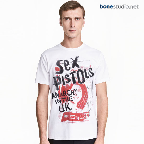 Sex Pistols T Shirt Anarchy In The Uk
