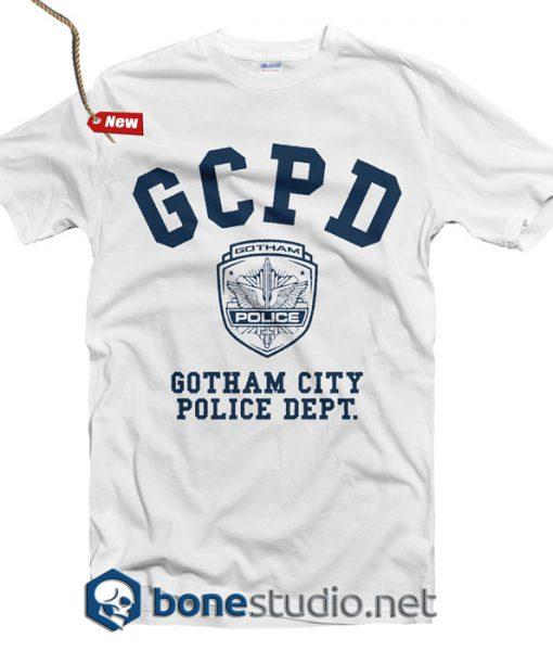GCPD Gotham City Police Dept T Shirt