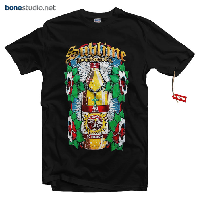 Sublime T Shirt LBC Ca