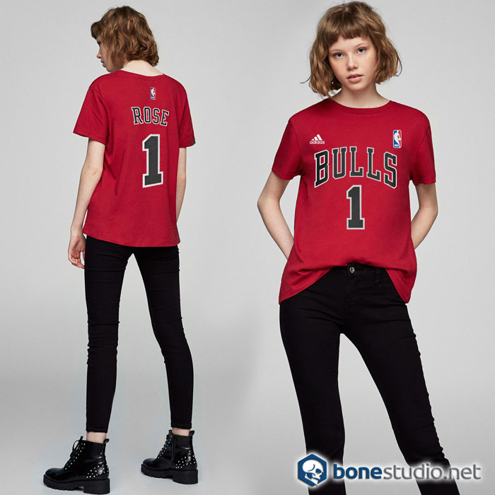 Derrick Rose Chicago Bulls T Shirt