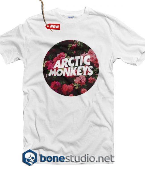 Arctic Monkeys T Shirt Flower