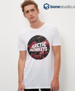 Arctic Monkeys T Shirt Flower