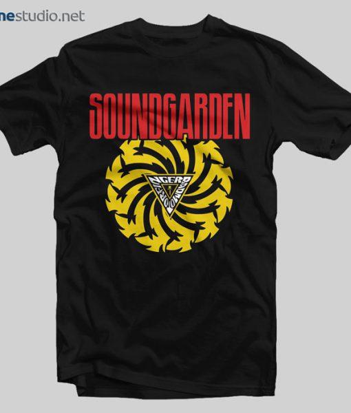 Sound Garden T Shirt Bad Motor Finger
