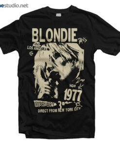 Blondie T Shirt LA 1977