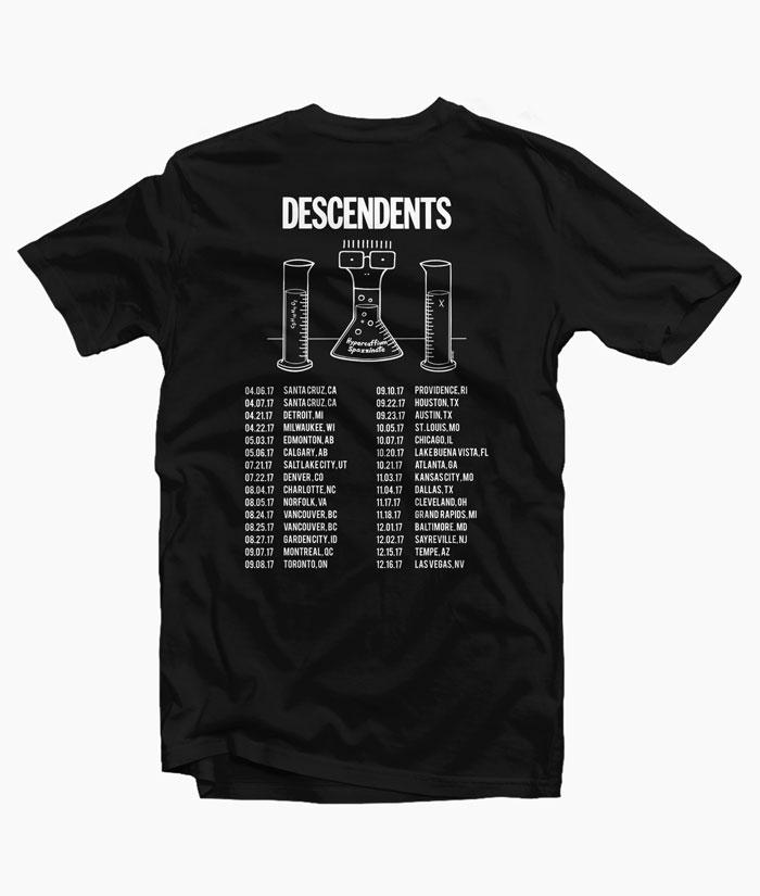 Descendents Tour T Shirt