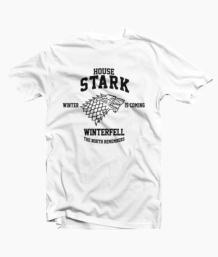 Game Of Thrones T Shirt House Stark