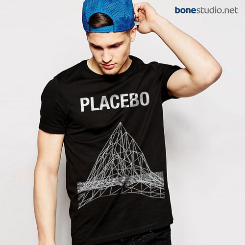 Placebo T Shirt Mountain Graph