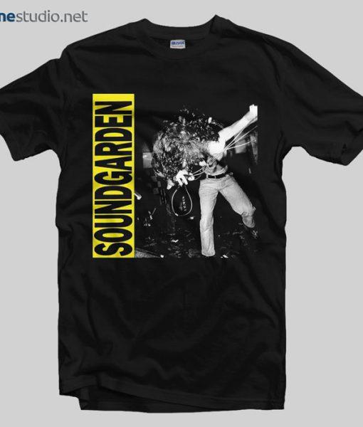 Sound Garden T Shirt Louder Than Love 1989