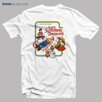 Let's Summon Demons T Shirt Activities For Children