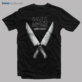 Fall Out Boy T Shirt FOB American Beauty American Psycho