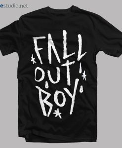 Fall Out Boy T Shirt FOB Scratch