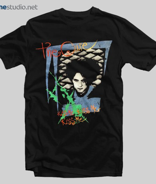 The Cure T shirt Kiss Me