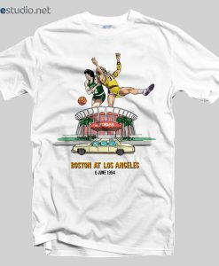 Celtics Lakers T Shirt
