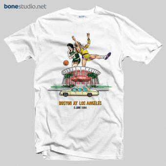 Celtics Lakers T Shirt