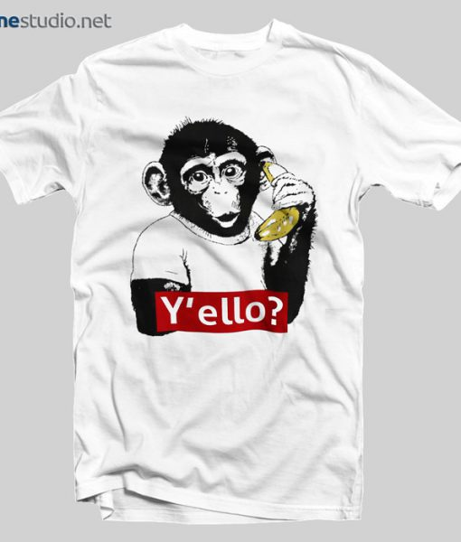 Monkey T Shirt Y'ello