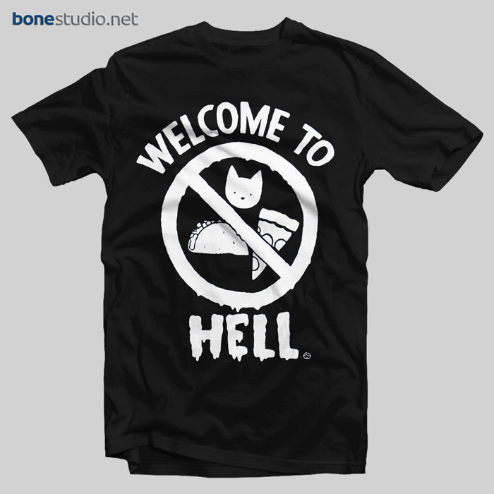 Welcome To Hell T Shirt