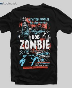 Rob Zombie T Shirt Zombie Calls